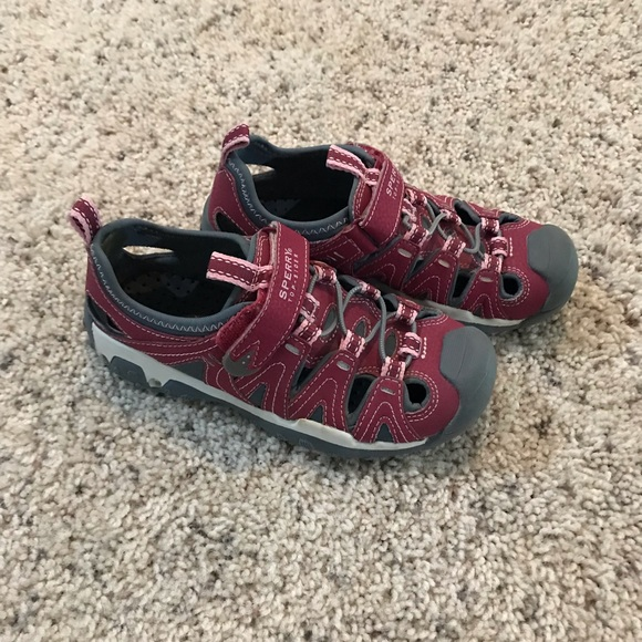 Sperry Other - Girls Sperry Top Sider Velcro Sneakers Shoes